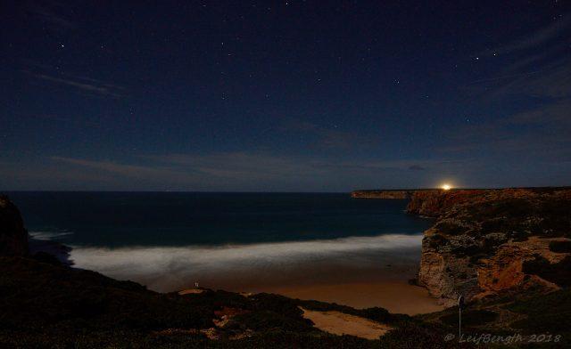 Månsken över praian....
