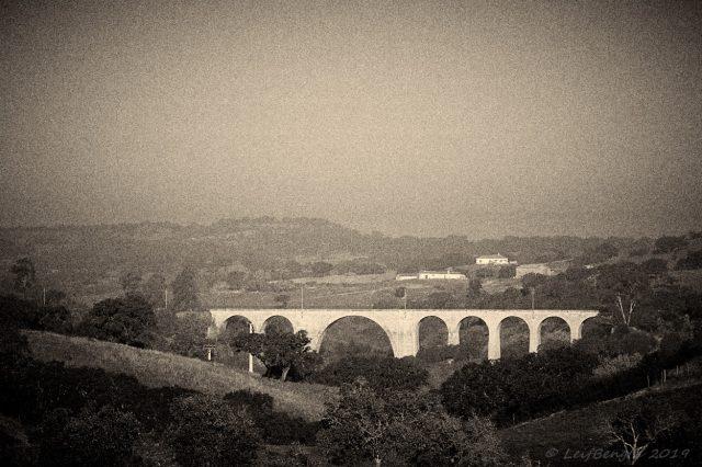 Järnvägsviadukt vid Panoias