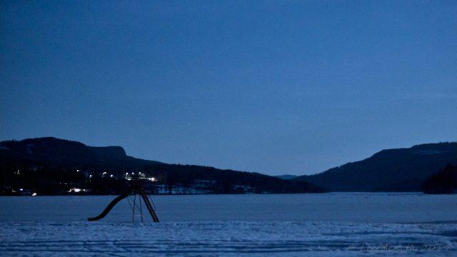Nässjön med Åik som horisont...