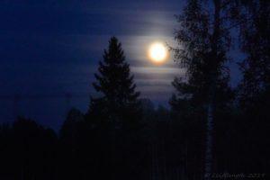 Fullmåne med spegel...