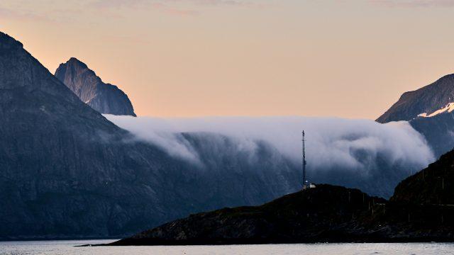 Det vita Midnattsfallet. Mefjord, Senja