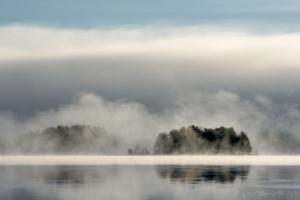 Dimmor på Orsasjön...
