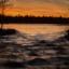 Solnedgång i Gysinge