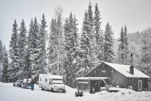 En snöig dag...