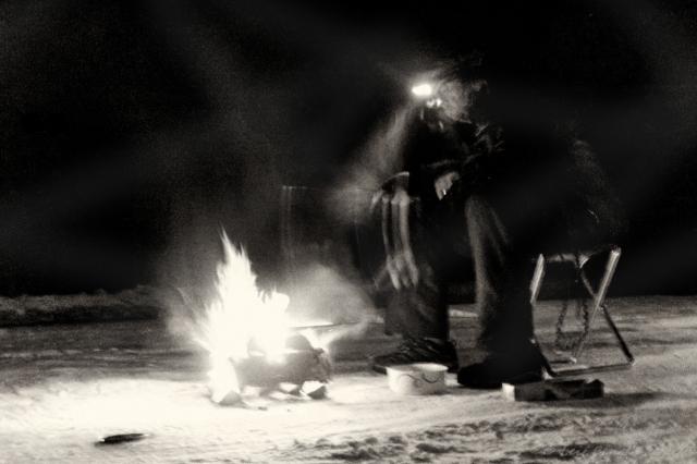 Barbecue på Våmhuskölen