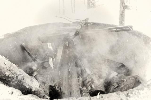 Barbecue i renbetesland