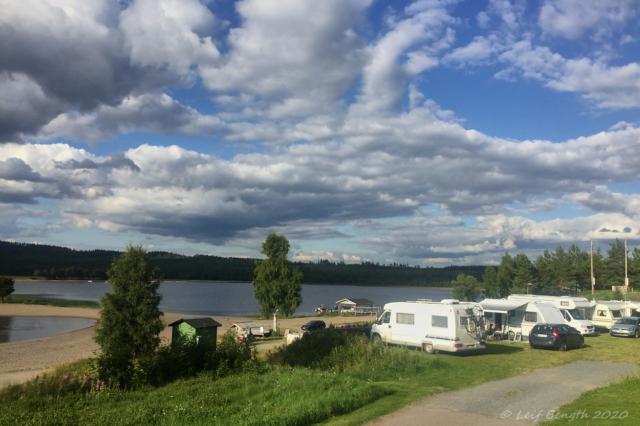 """Särna camping med """"havsutsikt"""""""