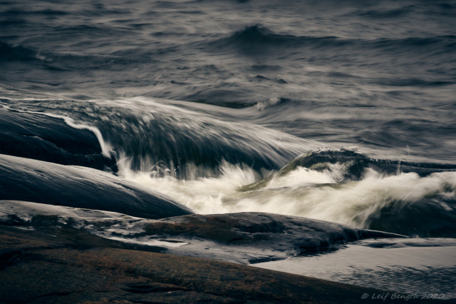 Vid havet utanför Kristinestad