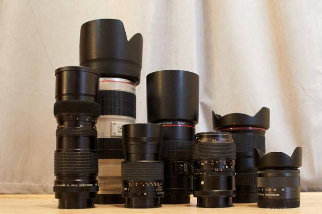 Fr.v.Hexanon AR 85-205 f3.8-, EF 70-200 f 2.8L IS, Hexanon AR 135 f3.5-, EF 100 Macro f2,8L IS, Hexanon AR 55 Macro f3.5-, EF 16-35 f4L IS, EF-M 15-45 f3.5-6.3 IS.