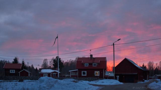 Solnedgång, Limbäck