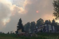 Skogsbrand Bonäs - Våmhus