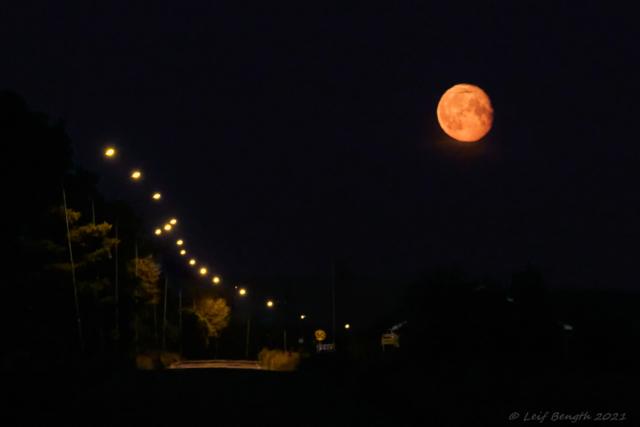 Fullmånen kl 23.40