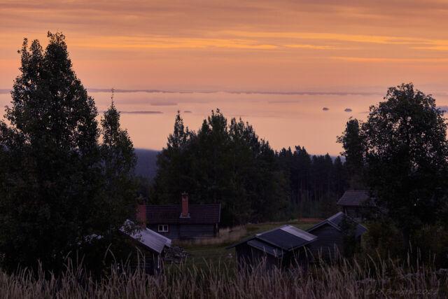 Näsberg - vy över Orsasjön