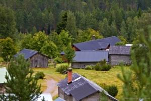 Näsberg - Den vackra fäboden i våmhusbergen