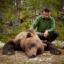 Dagens björnskytt i Våmhus