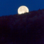Månnedgång och soluppgång vid Njupeskär...