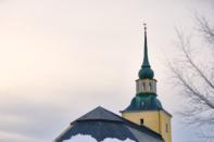 Promenad runt kyrkan