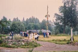 Majstångsresning i Näsberg