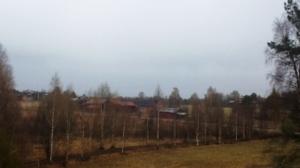 Snön försvann snabbt...